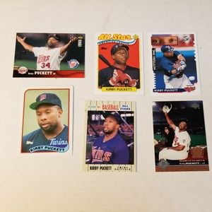 Kirby Puckett Baseball Cards